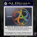 Mortal Engines Medusa Decal Sticker Quantum Energy Weapon Sparkle Glitter Vinyl Sparkle Glitter 120x120