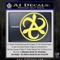 Mortal Engines Medusa Decal Sticker Quantum Energy Weapon Yellow Vinyl 120x120
