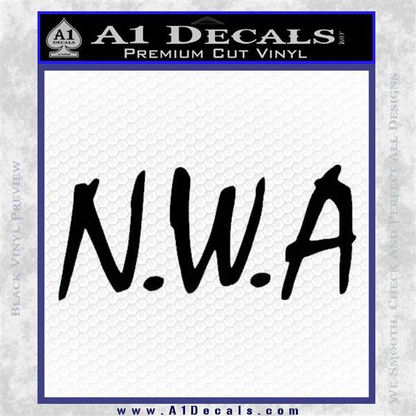 5efb7fa04898 N.W.A. Decal Sticker Dr Dre » A1 Decals