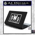 NWO Wrestling Decal Sticker White Vinyl Laptop 120x120