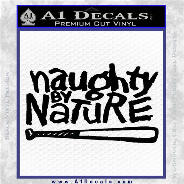 Naughty By Nature Decal Sticker Hip Hop Rap » A1 Decals