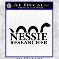 Nessie Decal Sticker Loch Ness Black Vinyl Logo Emblem 120x120