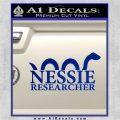 Nessie Decal Sticker Loch Ness Blue Vinyl 120x120