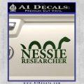 Nessie Decal Sticker Loch Ness Dark Green Vinyl 120x120