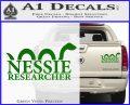 Nessie Decal Sticker Loch Ness Green Vinyl 120x97