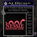 Nessie Decal Sticker Loch Ness Pink Vinyl Emblem 120x120