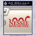 Nessie Decal Sticker Loch Ness Red Vinyl 120x120