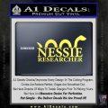 Nessie Decal Sticker Loch Ness Yellow Vinyl 120x120