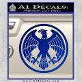 One Punch Man Hero Association Decal Sticker Blue Vinyl 120x120