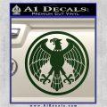 One Punch Man Hero Association Decal Sticker Dark Green Vinyl 120x120