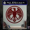 One Punch Man Hero Association Decal Sticker Dark Red Vinyl 120x120