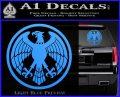 One Punch Man Hero Association Decal Sticker Light Blue Vinyl 120x97