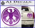 One Punch Man Hero Association Decal Sticker Purple Vinyl 120x97