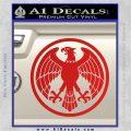 One Punch Man Hero Association Decal Sticker Red Vinyl 120x120