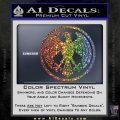 One Punch Man Hero Association Decal Sticker Sparkle Glitter Vinyl Sparkle Glitter 120x120
