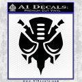 Predacon Transformers Decal Sticker Black Vinyl Logo Emblem 120x120