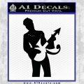 Prince Artist Formerly Known As Decal Sticker Guitar Logo Black Vinyl Logo Emblem 120x120