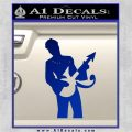 Prince Artist Formerly Known As Decal Sticker Guitar Logo Blue Vinyl 120x120