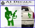Prince Artist Formerly Known As Decal Sticker Guitar Logo Green Vinyl 120x97