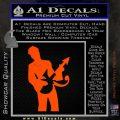 Prince Artist Formerly Known As Decal Sticker Guitar Logo Orange Vinyl Emblem 120x120