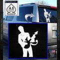 Prince Artist Formerly Known As Decal Sticker Guitar Logo White Vinyl Emblem 120x120