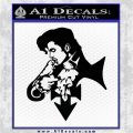 Prince Music Decal Sticker DP Artist Formerly Known As Black Vinyl Logo Emblem 120x120