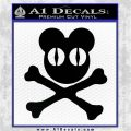 Radiohead Skull D1 Decal Sticker Black Vinyl Logo Emblem 120x120