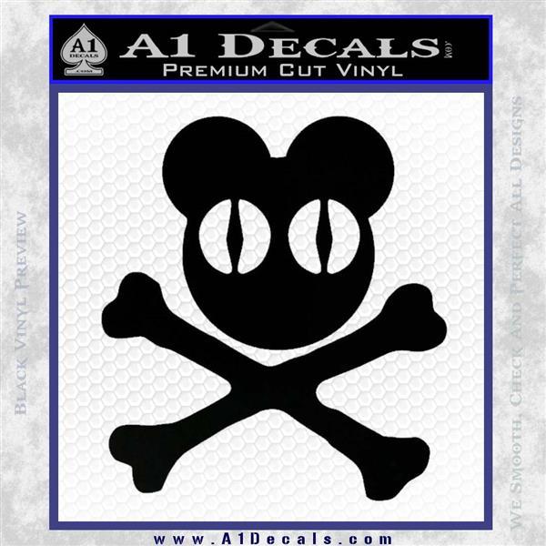 Hard Knock Life skull vinyl decal sticker