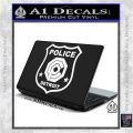 Robocop OCP Police Badge Decal Sticker Original White Vinyl Laptop 120x120
