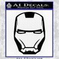 Robotman Helmet Decal Sticker Black Vinyl Logo Emblem 120x120