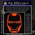 Robotman Helmet Decal Sticker Orange Vinyl Emblem 120x120