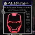Robotman Helmet Decal Sticker Pink Vinyl Emblem 120x120