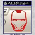 Robotman Helmet Decal Sticker Red Vinyl 120x120