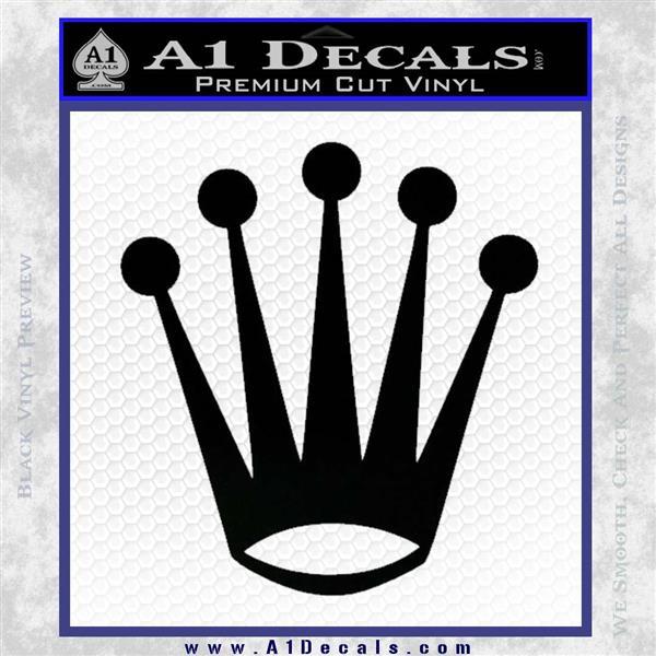 Rolex Crown Decal Sticker » A1 Decals