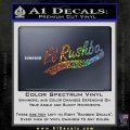 Rush Limbaugh Decal Sticker El Rushbo Sparkle Glitter Vinyl Sparkle Glitter 120x120