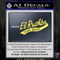 Rush Limbaugh Decal Sticker El Rushbo Yellow Vinyl 120x120