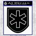 SS Mountain Division Nord Decal Sticker Black Vinyl Logo Emblem 120x120