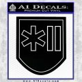 SS Polizei Grenadier Division Decal Sticker Black Vinyl Logo Emblem 120x120