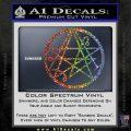 Sigil of the Gateway of Cthulu Necronomicon Decal Sticker Sparkle Glitter Vinyl Sparkle Glitter 120x120