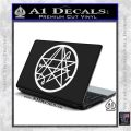 Sigil of the Gateway of Cthulu Necronomicon Decal Sticker White Vinyl Laptop 120x120
