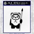 Space Battle Cute Bear Thing Decal Sticker Black Vinyl Logo Emblem 120x120