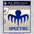 Spectre 007 Decal Sticker 2015 Blue Vinyl 120x120