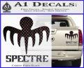 Spectre 007 Decal Sticker 2015 Carbon Fiber Black 120x97