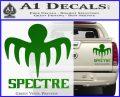 Spectre 007 Decal Sticker 2015 Green Vinyl 120x97