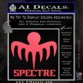 Spectre 007 Decal Sticker 2015 Pink Vinyl Emblem 120x120