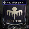 Spectre 007 Decal Sticker 2015 Silver Vinyl 120x120