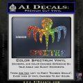 Spectre 007 Decal Sticker 2015 Sparkle Glitter Vinyl Sparkle Glitter 120x120