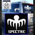 Spectre 007 Decal Sticker 2015 White Vinyl Emblem 120x120