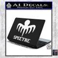 Spectre 007 Decal Sticker 2015 White Vinyl Laptop 120x120
