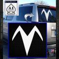 Speed Racer X Chest Emblem Decal Sticker White Vinyl Emblem 120x120